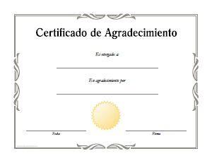 certificados de reconocimiento en blanco newhairstylesformen2014com diplomas de agradecimiento para imprimir formatos