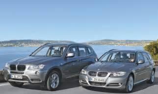 Bmw 3er Touring Vs X3 by Kombi Oder Suv Bmw X3 Und Bmw 320d Touring Im