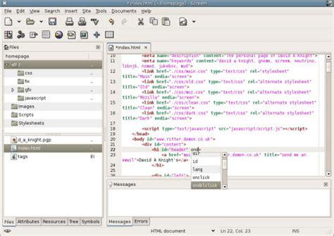 best web design editor linux 20 of the best free coding editors 1stwebdesigner