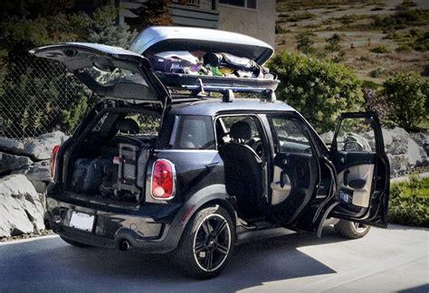 mini countryman ski rack family sized adventure