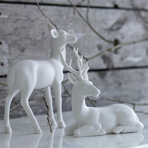 three simple ideas for christmas deer 183 a white carousel