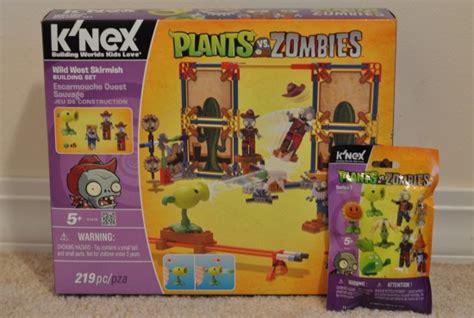 Plant Vs Family Set 2 k nex plants vs zombies west skirmish building set