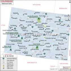 map of national parks in colorado colorado national parks map