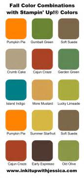 color combination with stin up color combinations for fall ink it up with