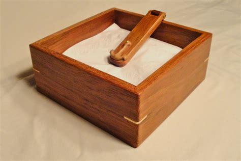 woodwork wooden napkin holder plans  plans