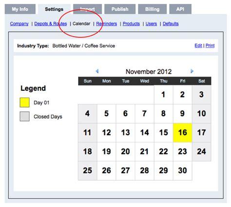 calendar mobile setup setup delivery calendar mobileiq