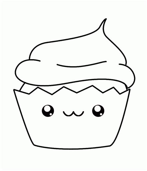 Cupcake Coloring Pages To Print by Cupcakes Coloring Page Coloring Home