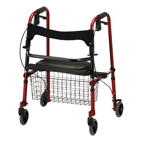 walkers for seniors with seat near me buy foldable walkers chair with wheels and seat