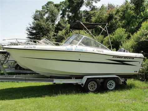 hydra sport boats specs hydra sports 2000 dual console 1998 for sale for 11 995