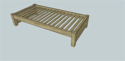 Platform Bed Frame Plans Easy Build Platform Bed Frame Models Picture