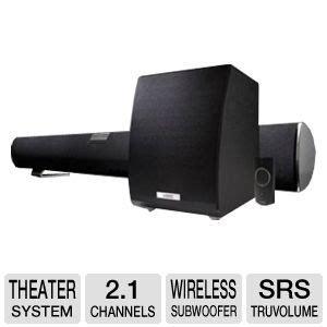 vizio vht210 soundbar home theater system 2 1 channel