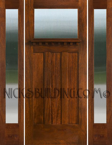 entry door with sidelights craftsman style doors and sidelights