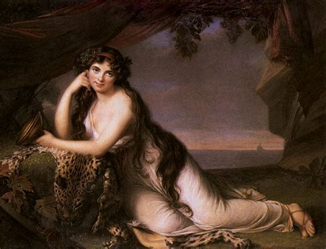 reclining bacchante emma lady hamilton seen by louise elisabeth vig 233 e lebrun