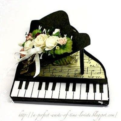 free template for piano card template for a piano card for betty papercraft juxtapost