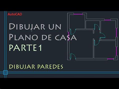 tutorial autocad desde cero autocad 2d tutorial para dibujar un plano de casa parte