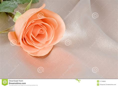 color from image colored on beige satin background stock image