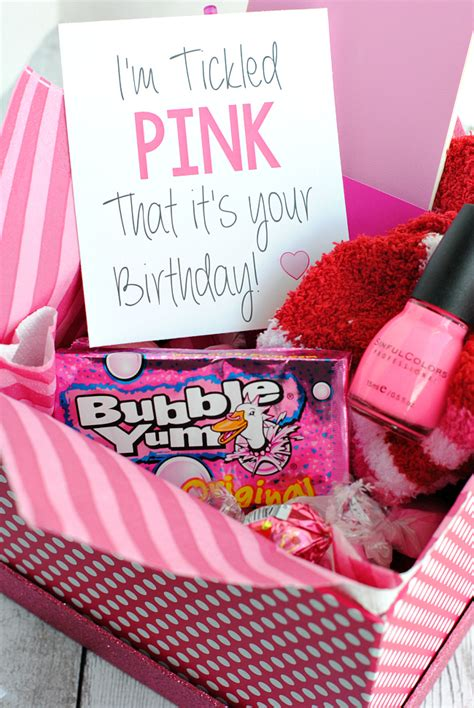 gift set ideas tickled pink gift idea projects