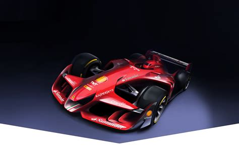 future ferrari ferrari reveals crazy future formula one concept gtspirit