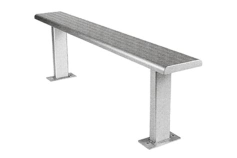 sports bench seating public benches exteria street park outfitters