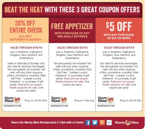 printable free restaurant coupons 99 restaurant coupons 2015 best auto reviews