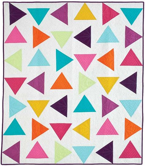 Triangle Quilt Patterns by Quilting Is Therapy Triangle Toss Quilt Quilting Is