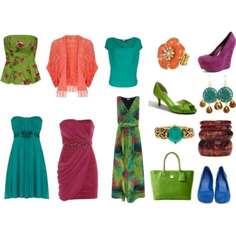 Batik Dress Amira autumn brights by sabira amira on polyvore featuring