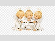 Christmas Angel Clip art - Cute Angels Carolers Christmas ... Free Holiday Banner Clip Art