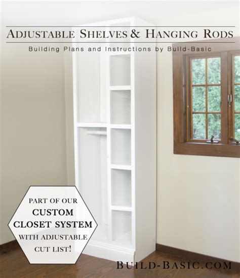 how to customize a closet for improved storage capacity tremendous build a closet shelf and rod roselawnlutheran