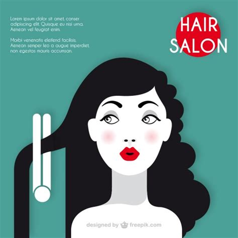 download hair salon hair salon template vector free download