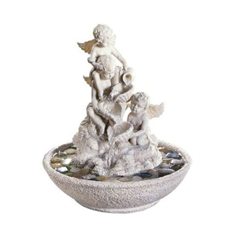 cheap indoor fountains indoor tabletop cherub water
