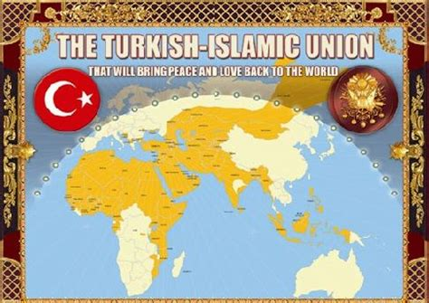 neo ottoman order proposed map by turkey to lead a revived ottoman empire