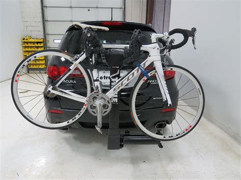 2008 acura rdx thule vertex swing 4 bike rack 2 quot hitches