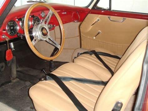 outlaw porsche interior clean modified 1961 porsche 356b coupe in fl bring a