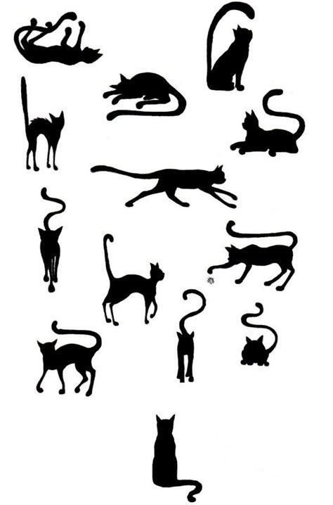 tattoo cat silhouette 237 best images about silhouette iii a on pinterest i
