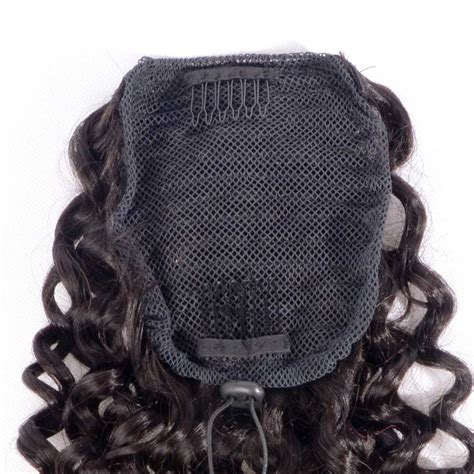 curly pony tail human hair advertised on qvc curly human hair ponytail extensions brazilian virgin hair