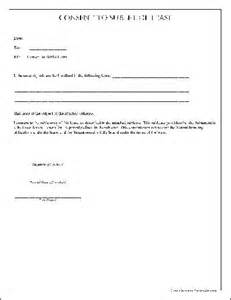 free simple consent to sublet of lease from formville