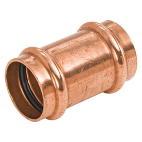 Copper Valves Plumbing by Shop Nibco 3 4 In X 3 4 In Copper Press Fit Coupling