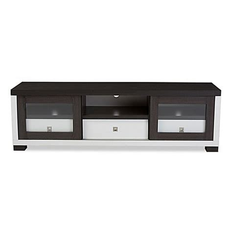 baxton studio unna 70 in tv cabinet baxton studio oxley 70 inch tv cabinet bed bath beyond