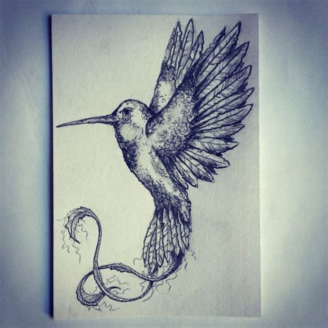 Sketches Ideas by Hummingbird Sketch Drawing Ideas By