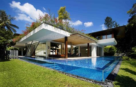 guz architects dream oasis 4 tropical nature centric homes by guz architects