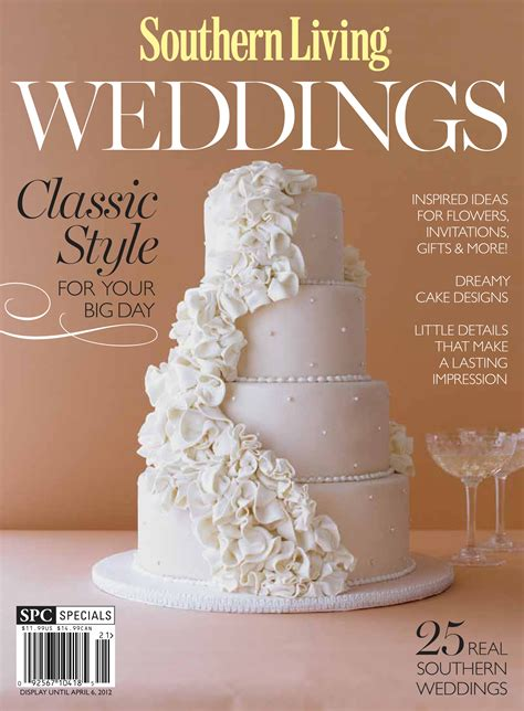 southern living s annual wedding issue focuses on southern tradition q wedding