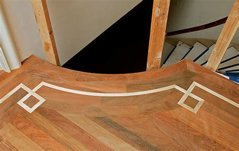 Cutting and bending curved floor parts   FineHomeBuilding