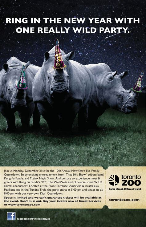 watson new year ad new years at the toronto zoo