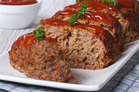 meatloaf recipe old fashioned meat loaf recipe epicurious com