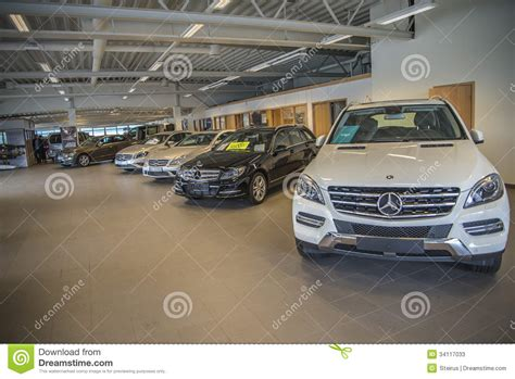peugeot used car dealers halden auto a s from the exhibition editorial stock photo