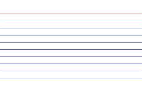 Index Card Design