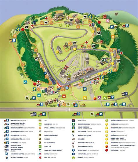 Motorrad Gp Spielberg Karten by Spielberg Rennstrecke Motogp Circuit Bull Ring