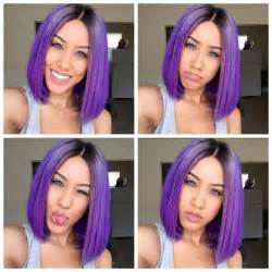 weave hairstyles with purple tips 25 best ideas about purple weave hair on pinterest plum