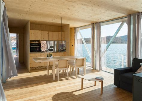 modular prefabricated floating house by friday modular floating house by friday urdesignmag