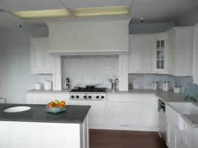 kitchen kitchen white color concept for wall and cabinet